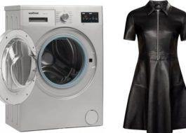 Възможно ли е да измиете еко кожа в пералня