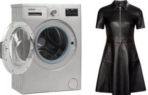 Adakah mungkin untuk mencuci ekoskin dalam mesin basuh