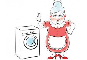 Mesin basuh mudah untuk warga tua