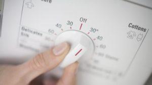 Waschtemperatur einstellen