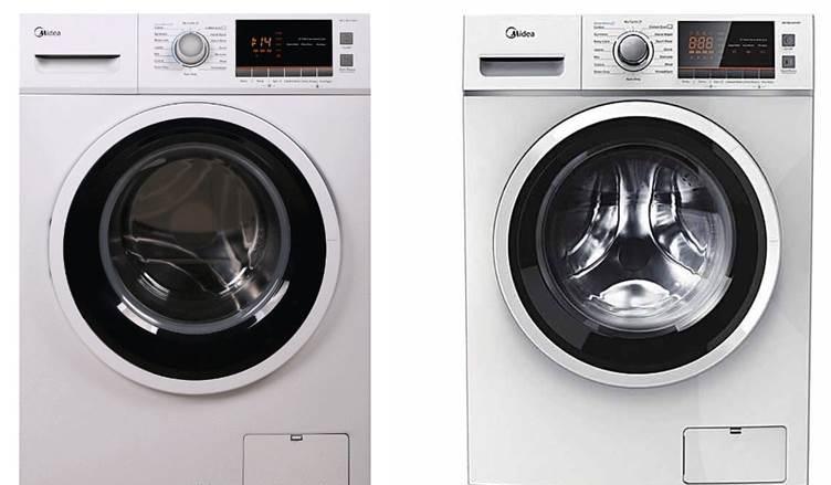 примери за модели перални машини Midea