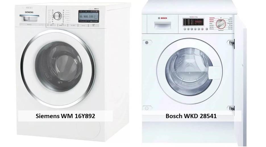 Bosch WKD 28541 Siemens WM 16Y892