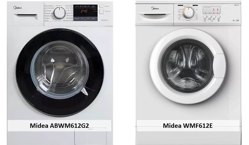 Midea ABWM612G2 Midea WMF612E