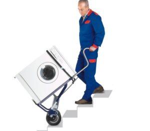 איך לסחוב מכונת כביסה לבד?