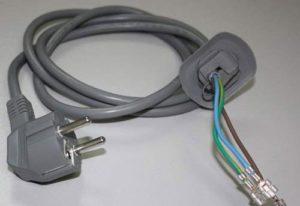 Как да смените захранващия кабел на пералнята