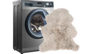 Bagaimana hendak mencuci kulit lembu di mesin basuh?