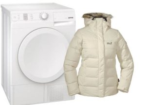 Как да изсушим пухеното яке в сушилня