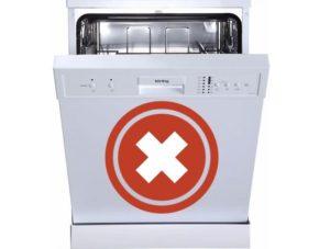 Mengapa mesin pencuci pinggan tidak berfungsi?