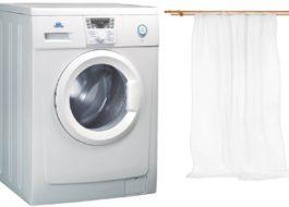 Измиване на органза в пералня