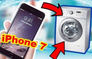 מה עלי לעשות אם רחצתי אייפון במכונת כביסה?