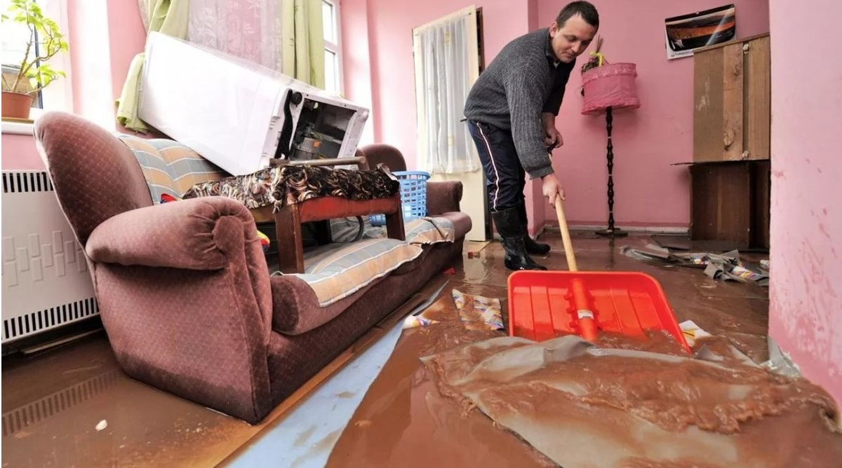 наводняване поради счупване на клапана PMM