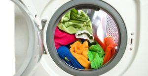 c'è uno squilibrio nella lavatrice