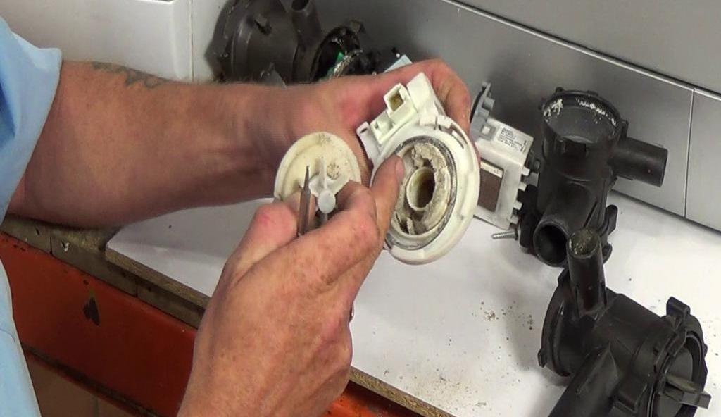 očistimo puža i pumpamo SM LG
