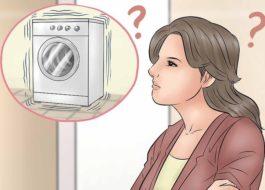 Пералнята скача, докато се върти.