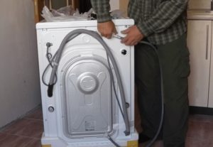 Bagaimana hendak menyambungkan mesin basuh LG?
